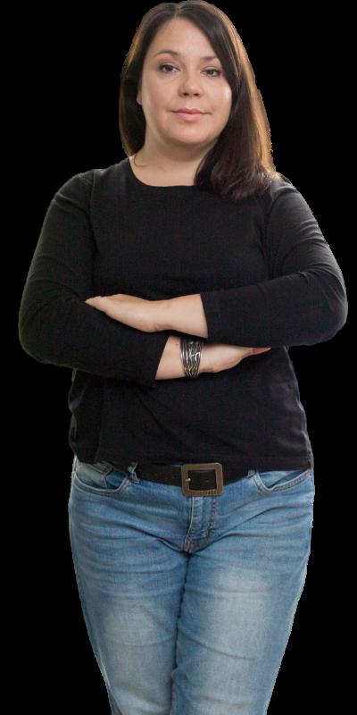 Ivana Fakin, owner - creative director Essenta agency